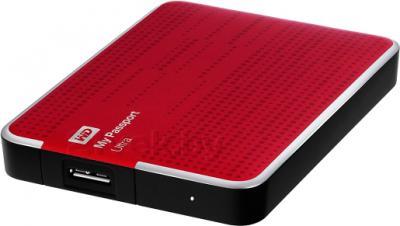 Внешний жесткий диск Western Digital My Passport Ultra 2TB Red (WDBBUZ0020BRD) - общий вид