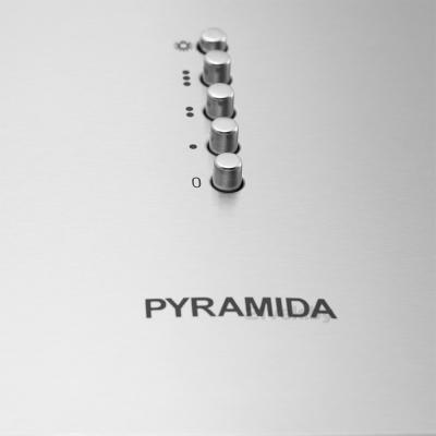 Вытяжка купольная Pyramida BR 60/A (нержавеющая сталь) - панель управления