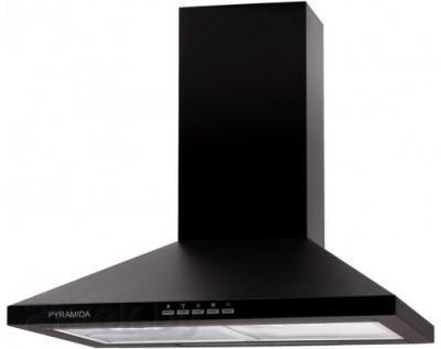 Вытяжка купольная Pyramida TK 60 (черный) - общий вид