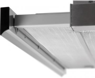 Вытяжка телескопическая Pyramida TL Full Glass (60 Inox-Black) - выдвижная панель