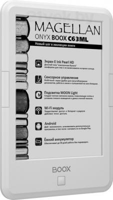 Электронная книга Onyx BOOX С63ML MAGELLAN (White) - общий вид
