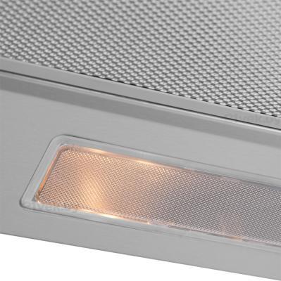 Вытяжка плоская Pyramida GH 20-60 Slim (нержавеющая сталь) - освещение