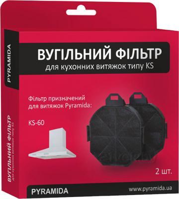 Угольный фильтр для вытяжки Pyramida KS / TK / NR - общий вид