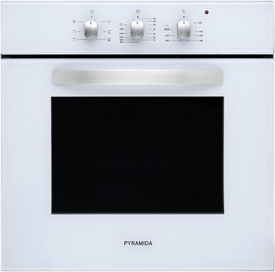 Электрический духовой шкаф Pyramida F 60 TMR (белый) - общий вид