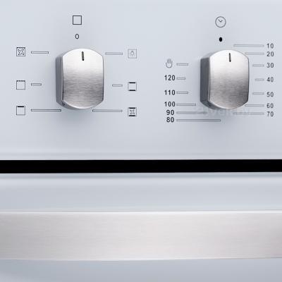 Электрический духовой шкаф Pyramida F 60 TMR (белый) - элементы управления