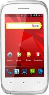 Смартфон Explay N1 (белый) - общий вид