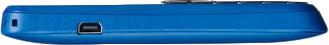 Мобильный телефон Alcatel One Touch 1010D (синий) - боковая панель