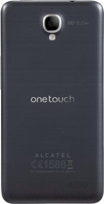 Смартфон Alcatel One Touch Idol 6030D (Gray) - вид сзади