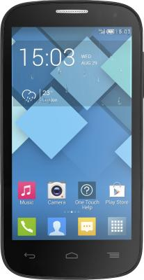 Смартфон Alcatel One Touch Pop C5 5036D (темно-серый) - общий вид