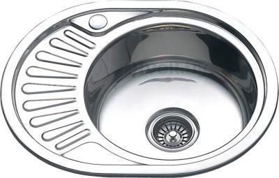 Мойка кухонная Melana MLN-5745 R (0,6) - общий вид