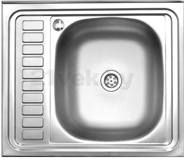 Мойка кухонная Melana MLN-6050 R (0,4) - общий вид