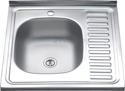 Мойка кухонная Melana MLN-6060 L (0,4) - общий вид