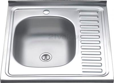 Мойка кухонная Melana MLN-6060 L (0,8) - общий вид