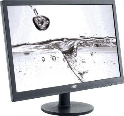 Монитор AOC e2260Swd - вид сбоку