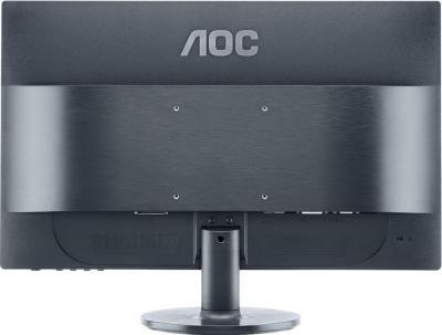 Монитор AOC e2260Swd - вид сзади
