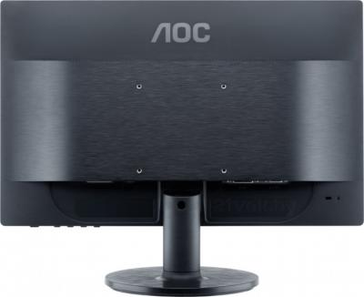 Монитор AOC e960Sd - вид сзади