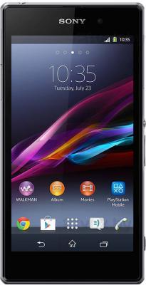 Смартфон Sony Xperia Z1 (C6902) (Black) - общий вид