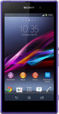 Смартфон Sony Xperia Z1 (C6902) (Purple) - общий вид