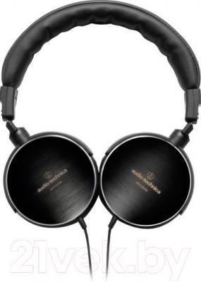 Наушники Audio-Technica ATH-ES700 - поворотные чашки из полированой нержавеющей стали