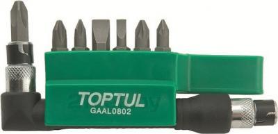 Набор оснастки Toptul GAAL0802 (8 предметов) - общий вид