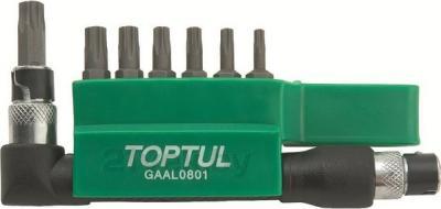 Набор оснастки Toptul GAAL0801 (8 предметов) - общий вид