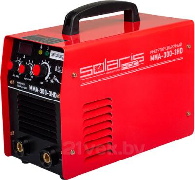 Инвертор сварочный Solaris MMA-300-3HD + AK - общий вид