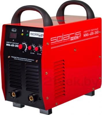 Инвертор сварочный Solaris MMA-400-3HD + AK - общий вид