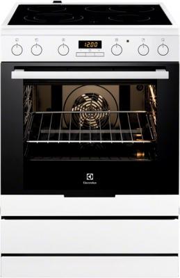 Кухонная плита Electrolux EKC6450AOW - общий вид