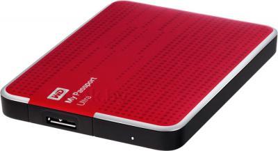 Внешний жесткий диск Western Digital My Passport Ultra 500GB Red (WDBLNP5000ARD) - общий вид