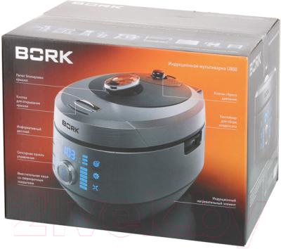 Мультиварка Bork U800 (серебристый)