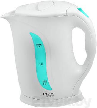 Электрочайник Home Element HE-KT103 (бело-зеленый) - общий вид