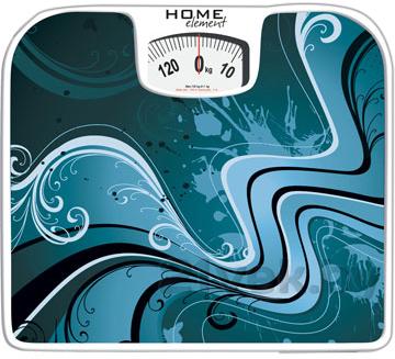 Напольные весы механические Home Element HE-SC900 (Aquamarine) - общий вид