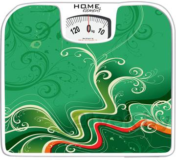 Напольные весы механические Home Element HE-SC900 (Green) - общий вид