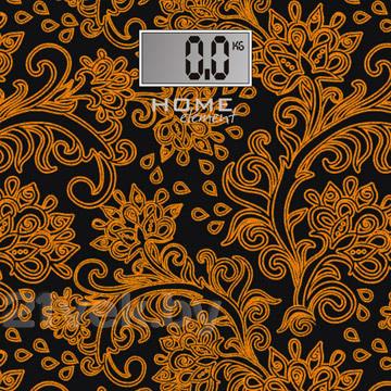Напольные весы электронные Home Element HE-SC904 (черный/золото) - общий вид