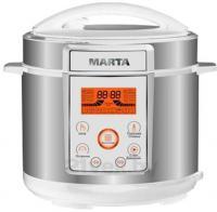 Мультиварка-скороварка Marta MT-1968 (белый/сталь) -