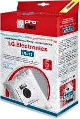 Комплект пылесборников для пылесоса ProFilters LG-11 - общий вид