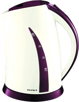 Электрочайник Supra KES-2301 (Beige-Purple) - общий вид