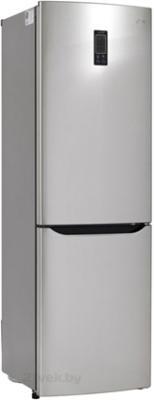 Холодильник с морозильником LG GA-B379SLQA - общий вид
