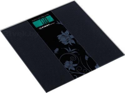 Напольные весы электронные FIRST Austria FA-8015-1 (черный) - общий вид