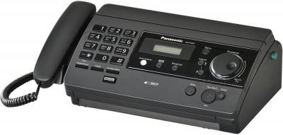 Факс Panasonic KX-FT502RU-B - общий вид