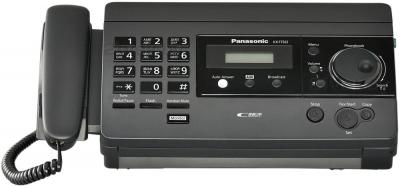 Факс Panasonic KX-FT502RU-B - общий вид