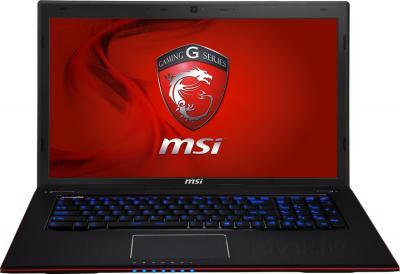 Ноутбук MSI GE70 2OE-298XBY - фронтальный вид