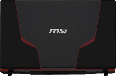 Ноутбук MSI GE70 2OE-298XBY - крышка