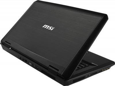 Ноутбук MSI GT70 2OC-845XBY - вид сзади