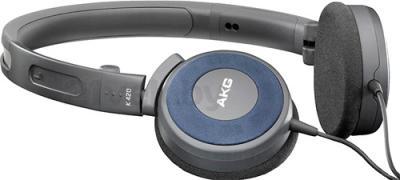 Наушники AKG K420 (Gray-Blue) - общий вид