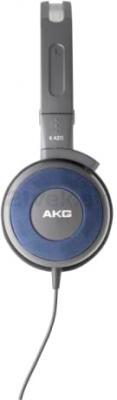 Наушники AKG K420 (Gray-Blue) - вид сбоку