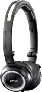Наушники-гарнитура AKG K451 (Black) - вид сбоку