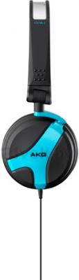 Наушники AKG K518 (Black-Light Blue) - вид сбоку