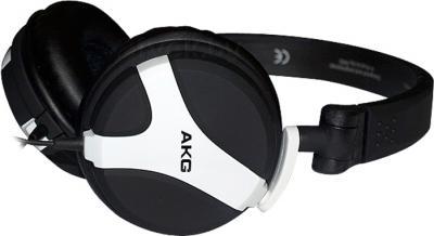 Наушники AKG K518 (черно-белый) - общий вид