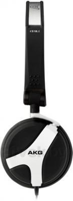 Наушники AKG K518 (черно-белый) - вид сбоку